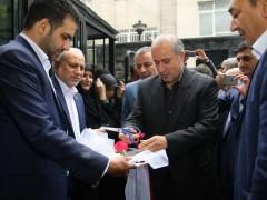 افتتاحیه ساختمان جدید هیات فوتبال (پیام قبادی)