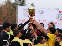 قهرمانی تهران در المپیاد پسران کشور