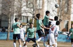 منتخب تهران - تیم ملی زیر 14 سال