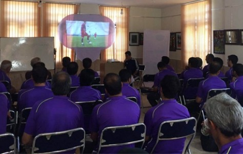 کلاس توجیهی و دانش افزایی فوتبال پایه تهران برگزار شد