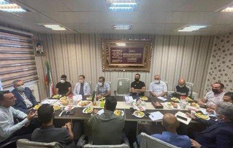 جلسه هم اندیشی با تیم های لیگ برتر، دسته یک و دوم استان تهران
