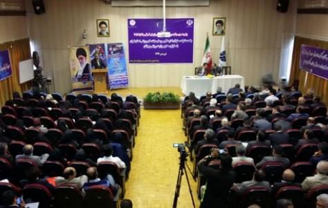 جلسه اداره کل ورزش و مسئولین هیات های ورزش برگزار شد
