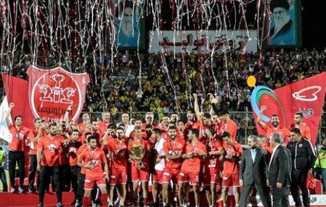 تبریک قهرمانی پرسپولیس و کسب سهمیه استقلال از سوی هیات فوتبال
