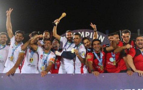 پیام تبریک هیات فوتبال به افتخارآفرینان فوتبال ساحلی ایران