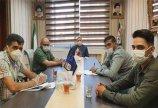 جلسه تدوین پروتکل بهداشتی کلاس های آموزشی برگزار شد