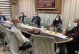 جلسه هم اندیشی رئیس هیات فوتبال با روسای حوزه های تهران