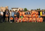تبریک هیات فوتبال به تیم سایپا قهرمان لیگ برتر جوانان استان
