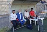 حضور رئیس هیات در هفته پایانی لیگ دسته اول جوانان