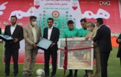 تجلیل هیات فوتبال از فغانی داور بین المللی استان تهران