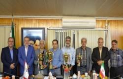 مراسم اهدای جام مسابقات پیشکسوتان استان تهران برگزار شد