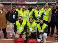 طرح امدادگر هوادار با موفقیت در دیدار پرسپولیس و تراکتورسازی برگزار شد
