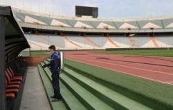ورزشگاه آزادی در آستانه آغاز رقابت های لیگ برتر فوتبال ضدعفونی شد