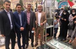 داور و ناظر تهرانی در مزار شهید سپهبد سلیمانی حاضر شدند