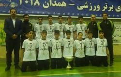 فوتسال تهران نایب قهرمان استعدادهای برتر کشور شد