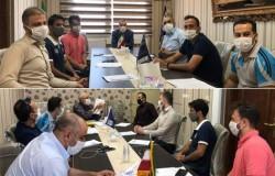 جلسه هماهنگی بازرسان مدارس فوتبال برگزار شد