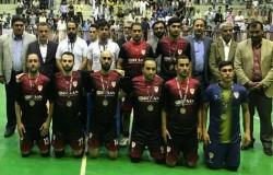 توسن نایب قهرمان جام حذفی فوتسال کشور شد