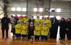 اختتامیه قهرمانی فوتسال جوانان بانوان برگزار شد