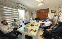 بازدید مدیرکل ورزش و جوانان استان تهران از هیات فوتبال