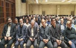 بزرگان فوتبال و ورزش در مراسم ختم و یاد بود برادر دکتر شیرازی