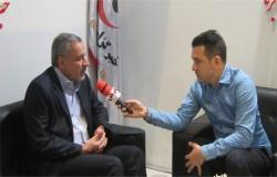 بازدید دکتر شیرازی از نمایشگاه مطبوعات به دعوت خبرگزاری برنا