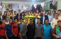مراسم تجلیل از سادات جامعه فوتبال برگزار شد