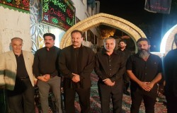 حضور جامعه ورزش در هیات مذهی بیت الایتام شهرری