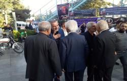 حضور جامعه ورزش در مراسم ترحیم بزرگمرد فوتبال تهران