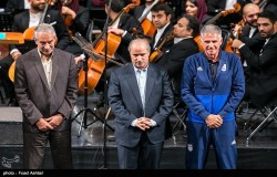 مراسم بدرقه تیم ملی ایران برگزار شد
