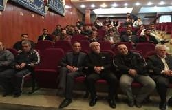 مراسم یادبود حکمت شعار داور قدیمی فوتبال برگزار شد