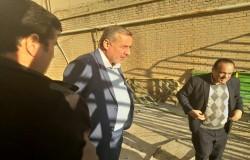 بازدید رئیس و دبیر هیات فوتبال از ساختمان جدید حوزه جنوب شرق