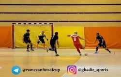 تقابل ستارگان فوتبال و فوتسال ایران در جام رمضان بزرگ غدیر