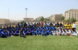 اولین دوره ی لیگ فوتبال بانوان استان تهران برگزار شد