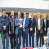 قهرمانی تیم یاران عسگری در مسابقات لیگ برتر پیشکسوتان استان تهران