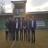 بازدید هیات رئیسه از امکانات ورزشی بخش قلعه نو