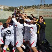 راه آهن قهرمان مسابقات دسته اول امیدهای تهران
