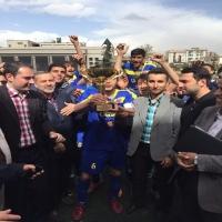 تیم تهران مبدل قهرمان مسابقات دسته دوم امیدهای تهران شد