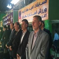 مراسم افتتاحیه رقابتهای امیدهای آینده ورزش استان تهران با حضور دکتر گودرزی