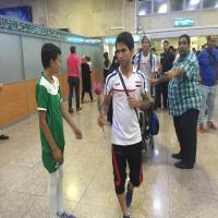 دیدار دوستانه تیم شهدای شمیران نو و تیم ملی جوانان عراق
