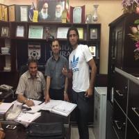ثبت قرارداد بازیکنان سایپا در هیات فوتبال تهران