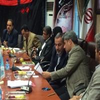 برگزاری شانزدهمین همایش روسای هیات های فوتبال شهرستان ها و حوزه ها در دانشگاه شهید رجایی