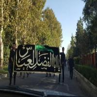 مراسم با شكوه عزاداري در شب عاشوراي حسيني + تصاویر