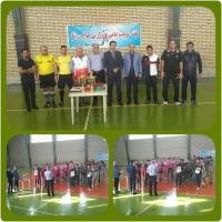 برگزاری مسابقات فوتسال در حوزه شمالشرق تهران به مناسبت هفته تربیت بدنی